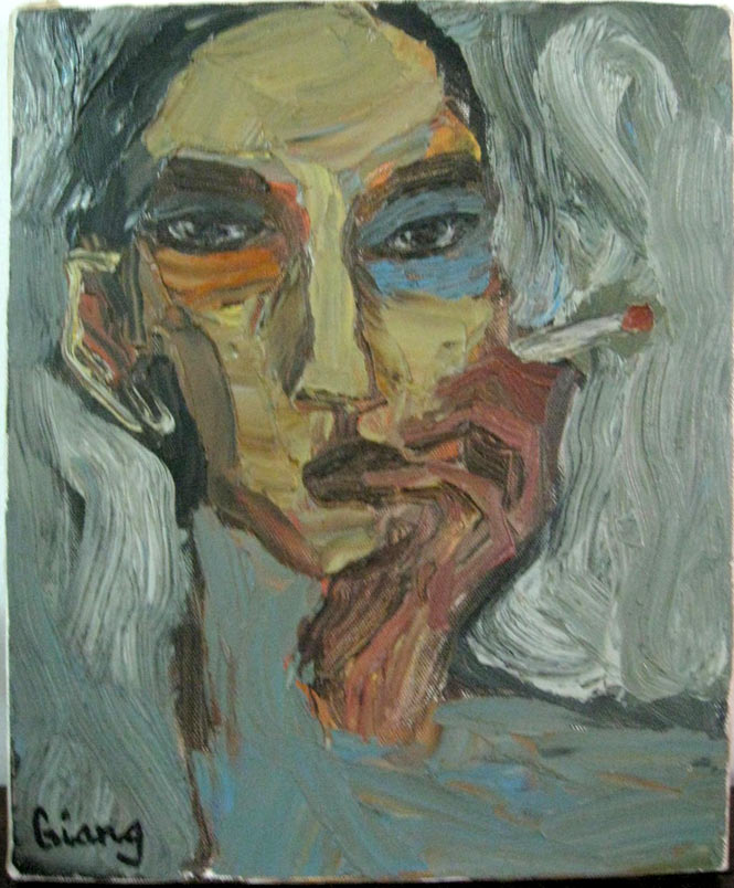 Self Portrait by Ly Tran Quynh Giang.