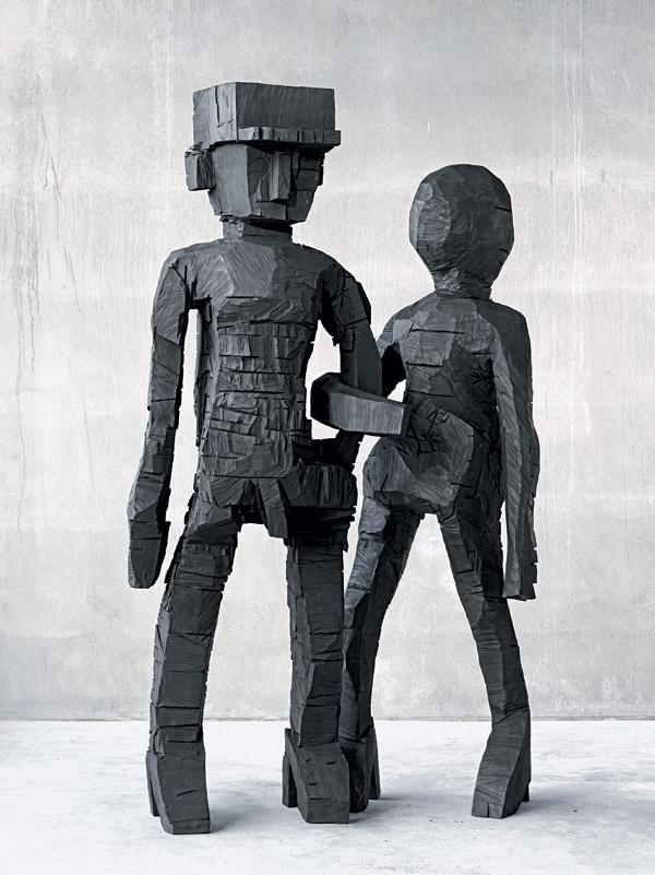 Sing Sang Zero by Georg Baselitz.