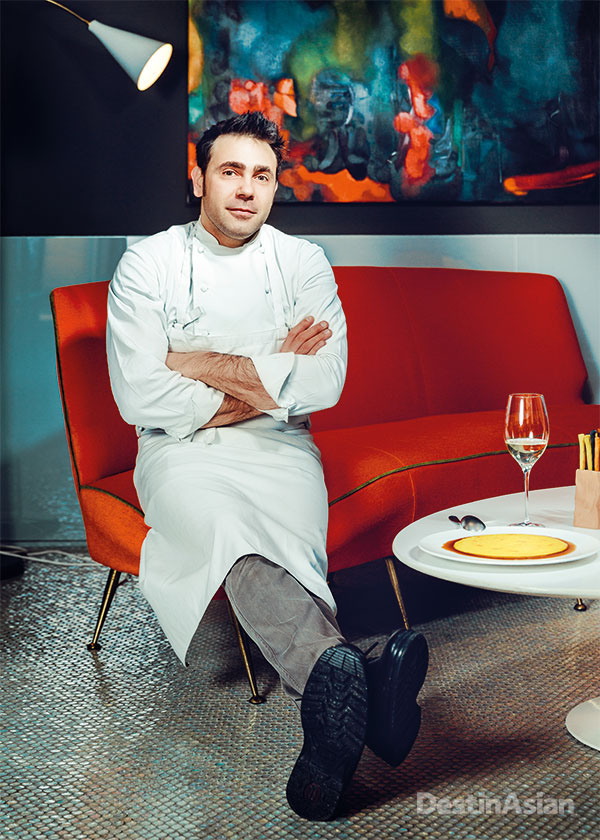 Chef Daniel Canzian at his eponymous Daniel restaurant.