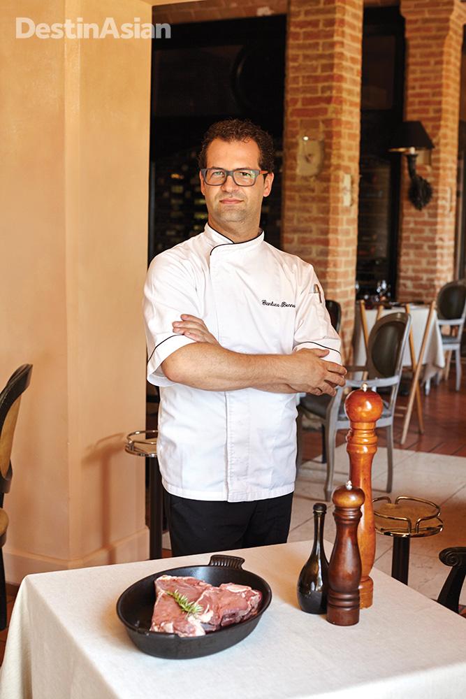 L'Andana chef Gianluca Bennardo.