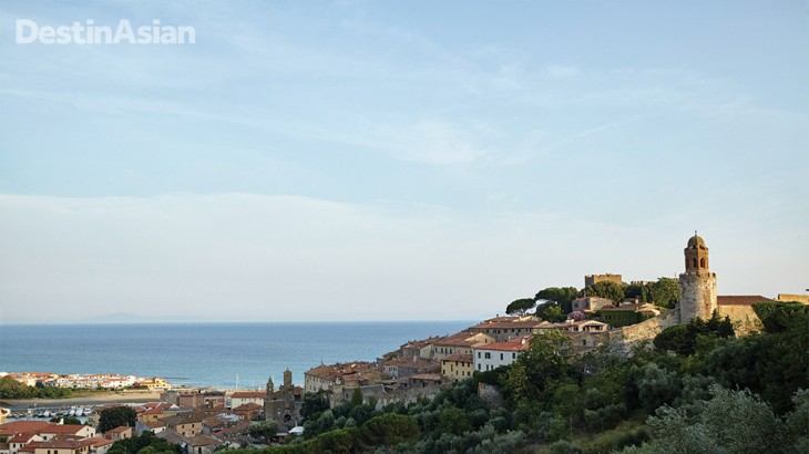 With its medieval ramparts and expansive sea views, Castiglione della Pescaia makes an excellent base for exploring this unspoiled slice of Tuscany.