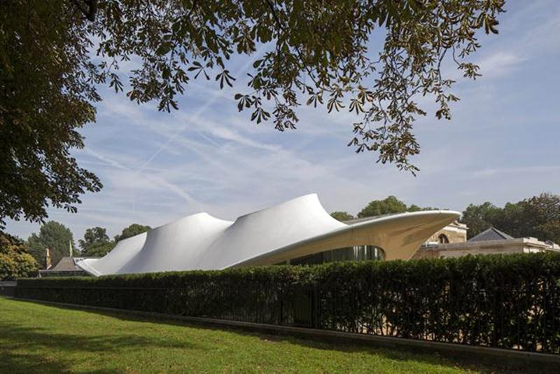 The Serpentine Sackler Gallery is the first permanent building in the United Kingdom for Zaha Hadid.