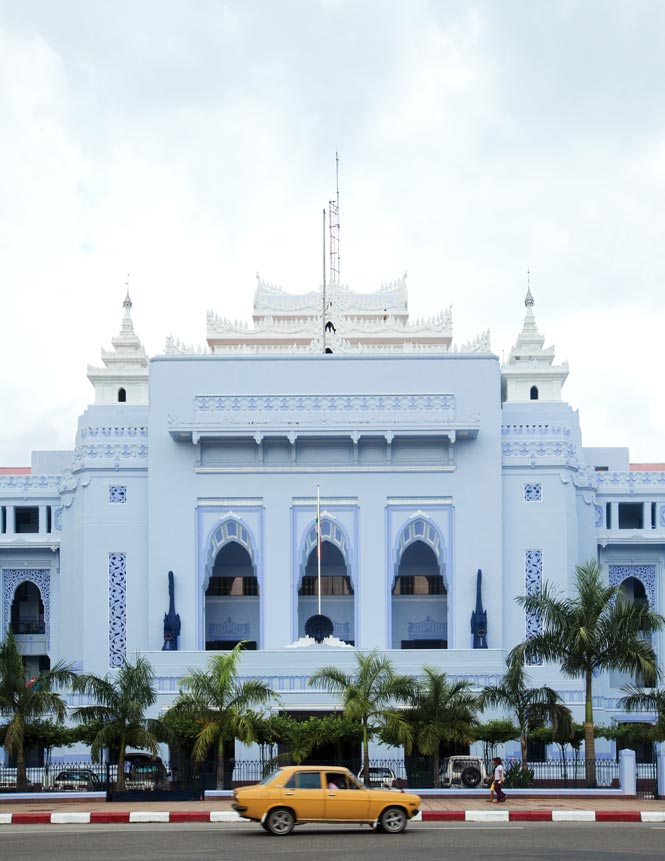 Yangon's City Hall.