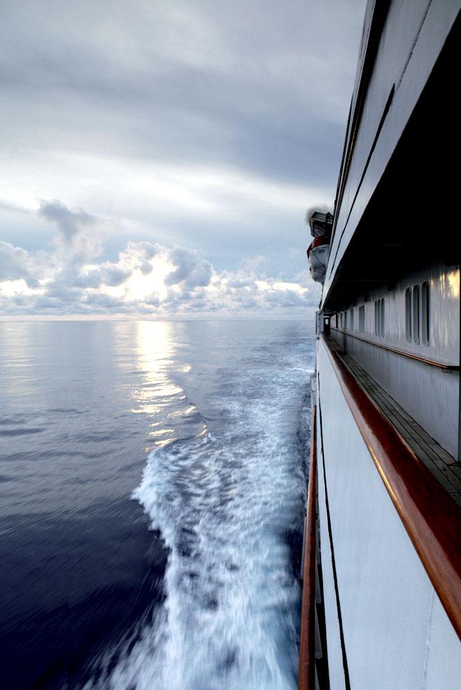 The passage to Setaih Island.