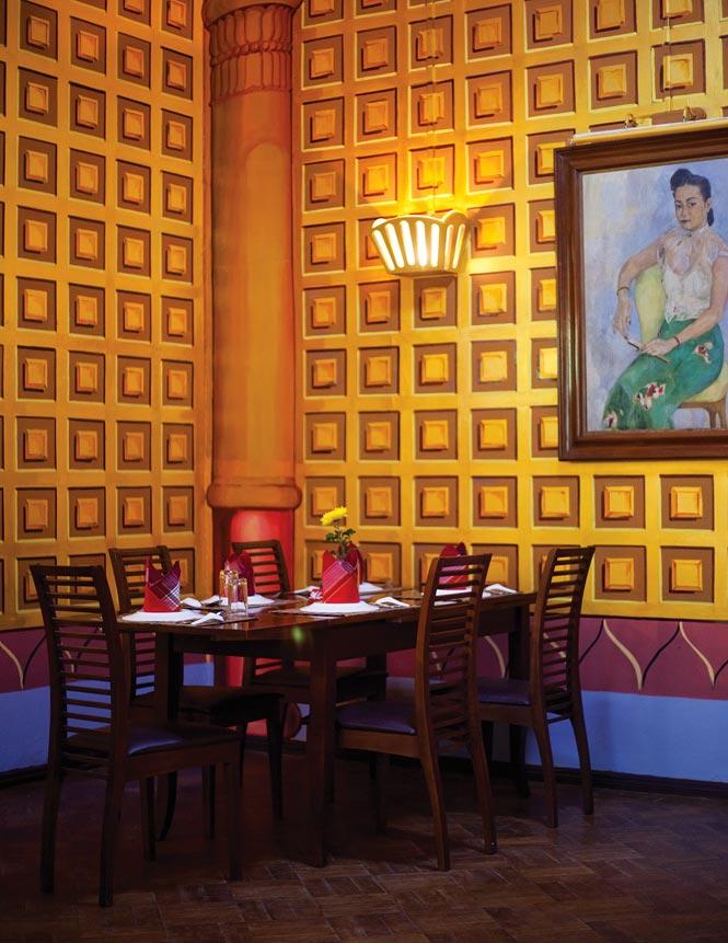 Padonmar restaurant.