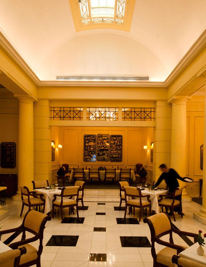 The Strand's elegant fine-dining restaurant.