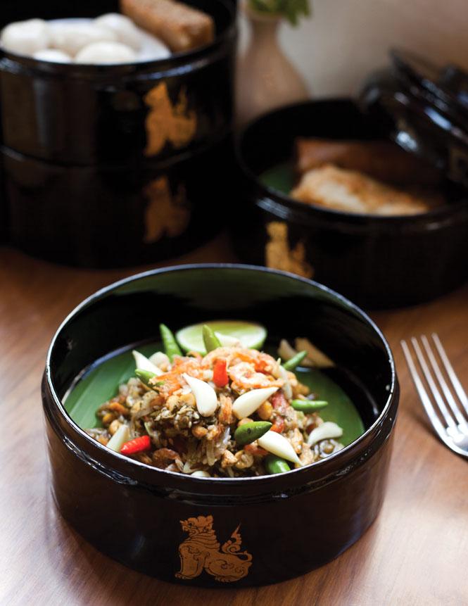 Burmese-style high tea at The Strand