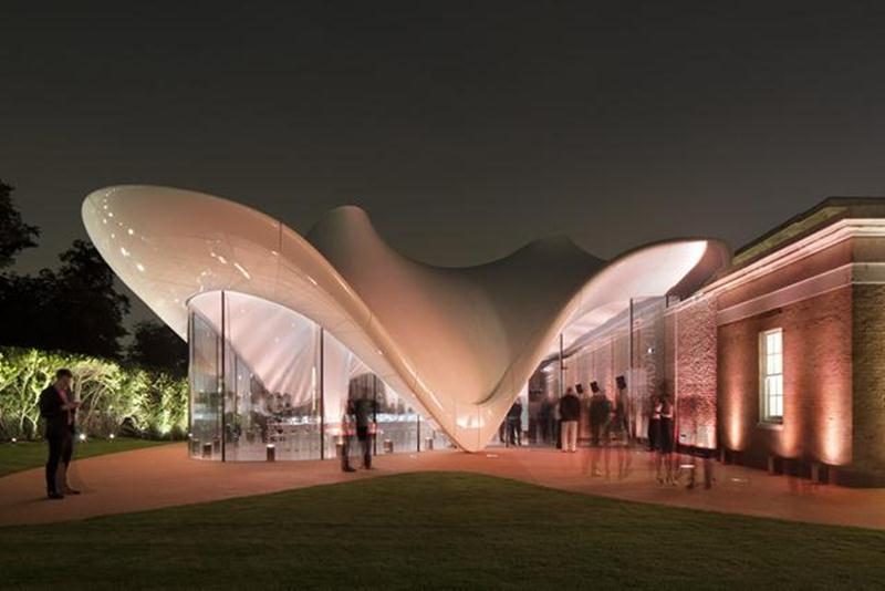 The new Serpentine Sackler Gallery spans 900 square meters.