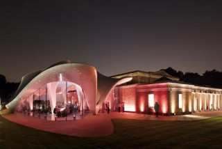 The new Serpentine Sackler Gallery is housed in The Magazine, a gunpower store which dates back to 1805.