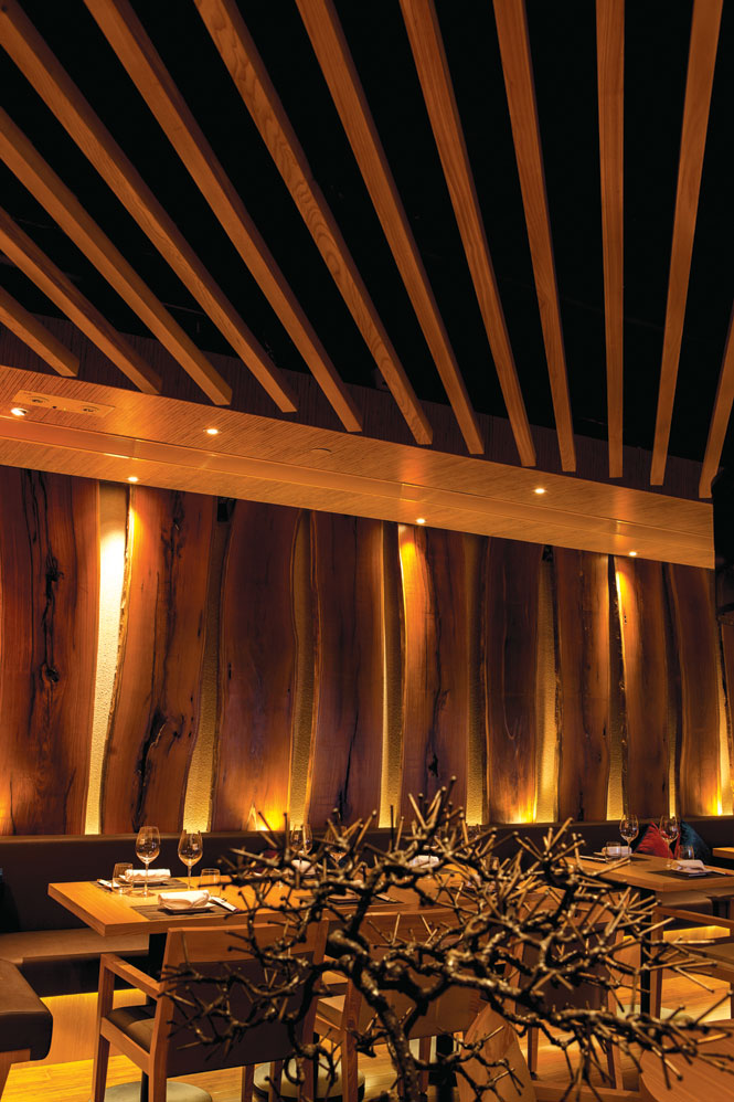 The dining room at Se Sa Me, which presents a menu created by U.S. celebrity chef Rodelio Aglibot.