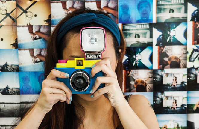 The same neighborhood is home to a Lomography Gallery Store, which makes an ideal stop for hipster shutterbugs.
