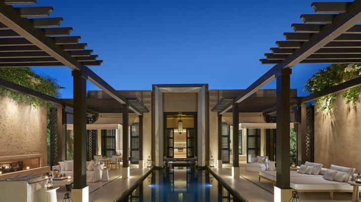 The Mandarin Oriental Marrakech is an ultra-luxury getaway comprising 54 private villas.