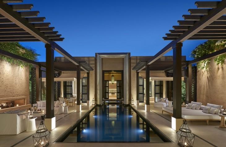The Mandarin Oriental Marrakech is an ultra-luxury getaway comprising 54 private villas.