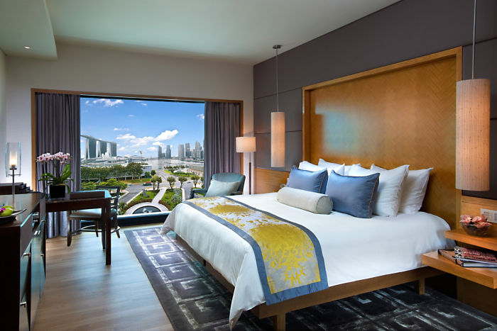 The Mandarin Oriental Bay Room.
