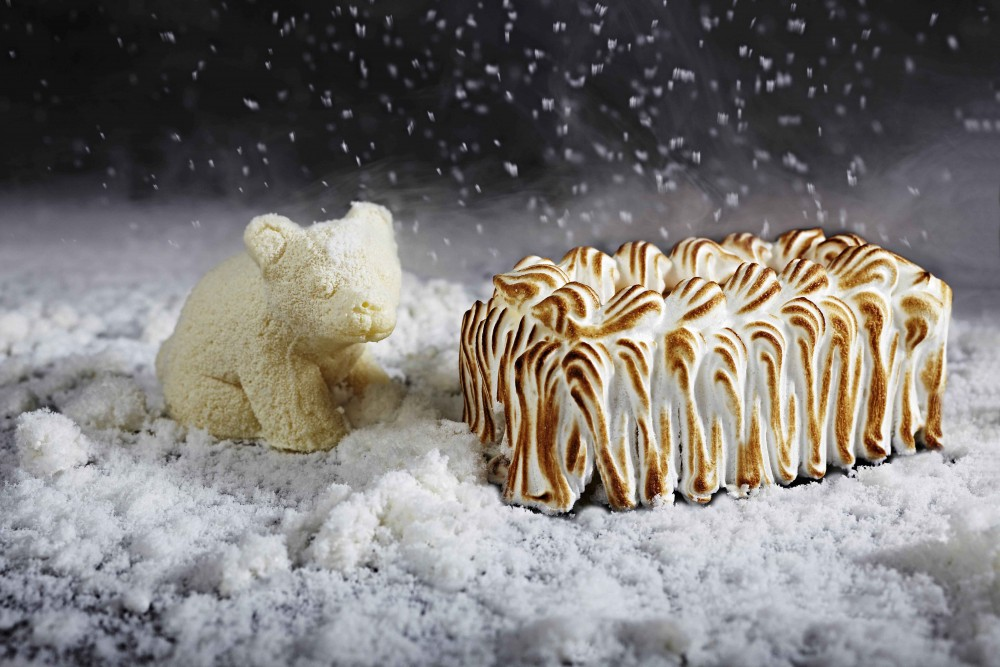 Baked Alaska, The Krug Room style.