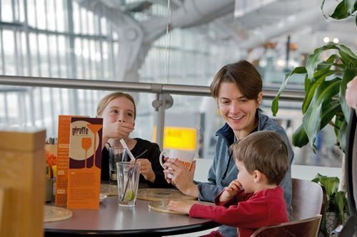 Heathrow Airport has 73 food and beverage outlets.