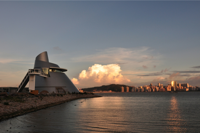 Macau attractions: the Macao Science Center.