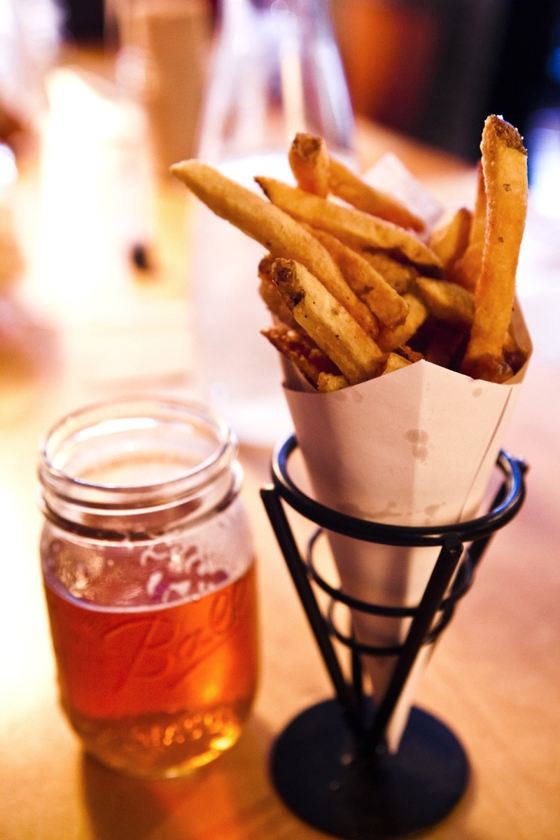 Duck Fat french fries.