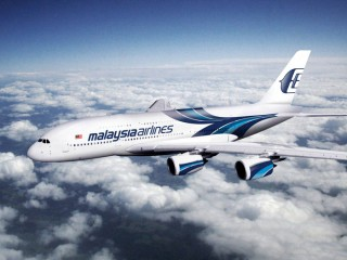Malaysia Airlines' A380 aircraft.
