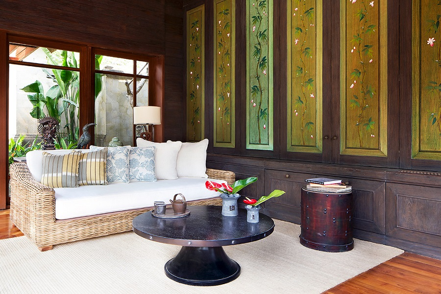 Traditional touches all throughout the villa.