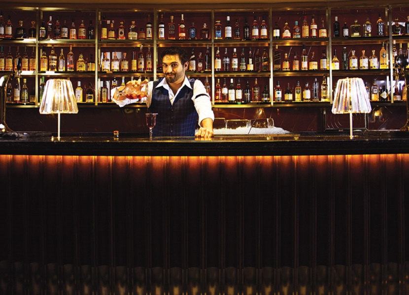 Ricky Paiva, Manhattan's head bartender.