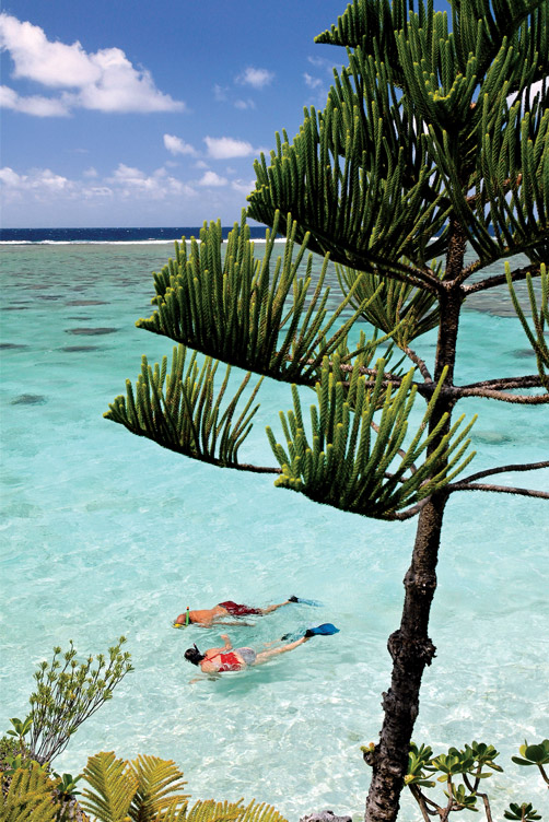 New Caledonia's crystal-clear lagoons are a paradise for snorkelers and divers.