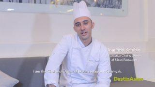 Mauri Restaurant, Chef Maurizio Bombini