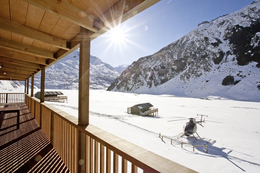 Minaret Station is an intimate getaway consisting of only four lodges.