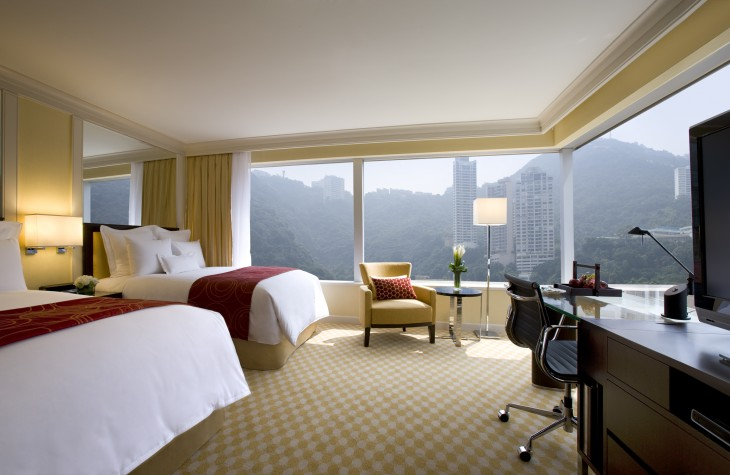 The Premier Mountain View Room.