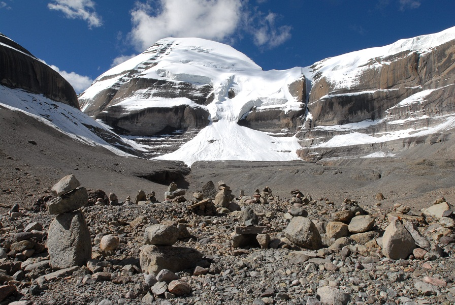The sacred Mount Kailash takes on special sanctity every twelve years.
