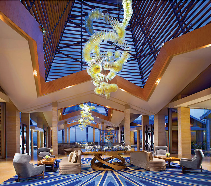 The resort compound is also home to four good restaurants, Nusa Dua's only night club, and the well-equipped Mulia Spa.