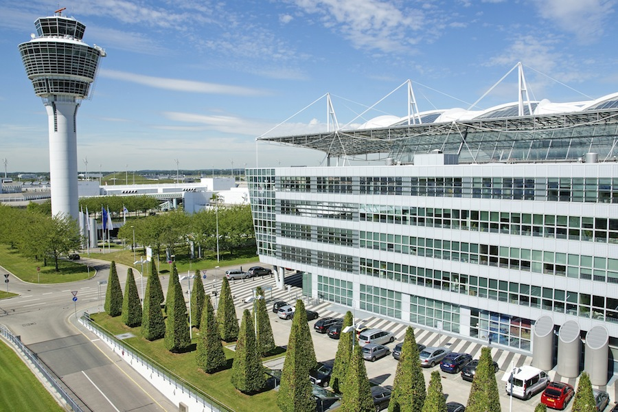 Munich Airport was named the third best airport in the world.