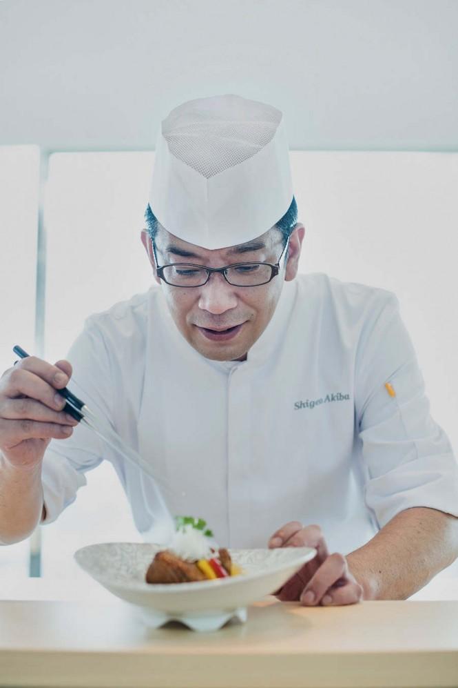 NAMI's head chef, Shigeo Akiba.