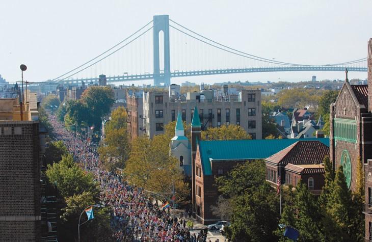 The New York City Marathon draws 47,000 runners.