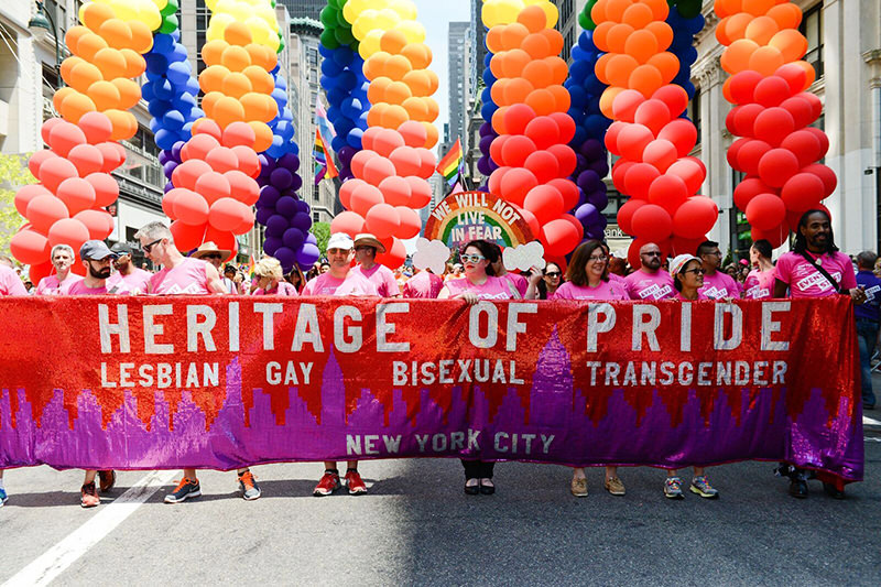 A peek into the colorful presence in the parade.