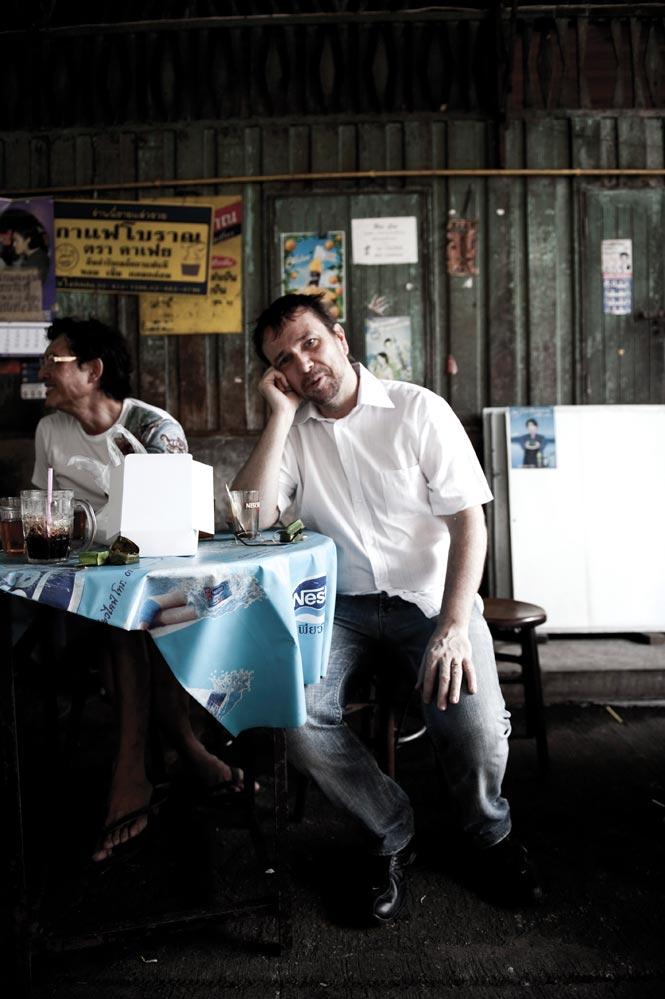 Chef David Thompson of Asia's top restaurant Nahm in Bangkok.