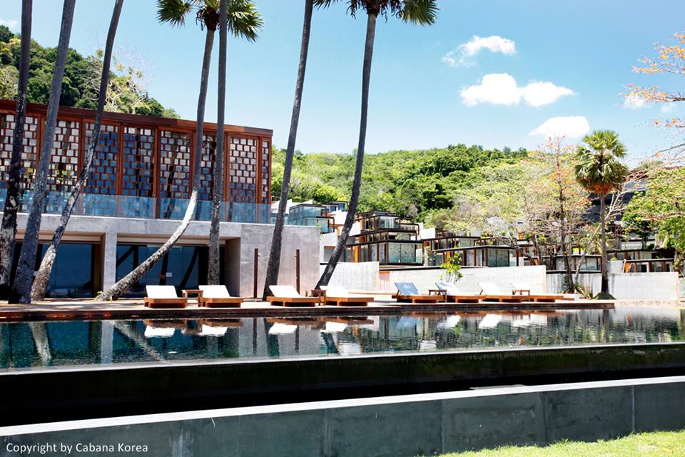 Each villa comes with a pool and there is also a main pool on the property.