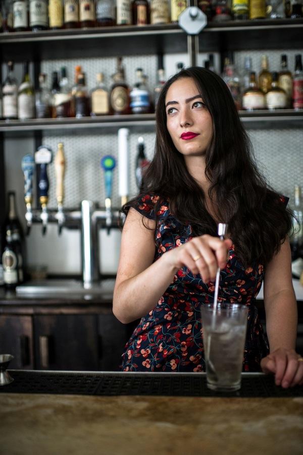 Natasha David of the U.S. will serve themed cocktails nightly.