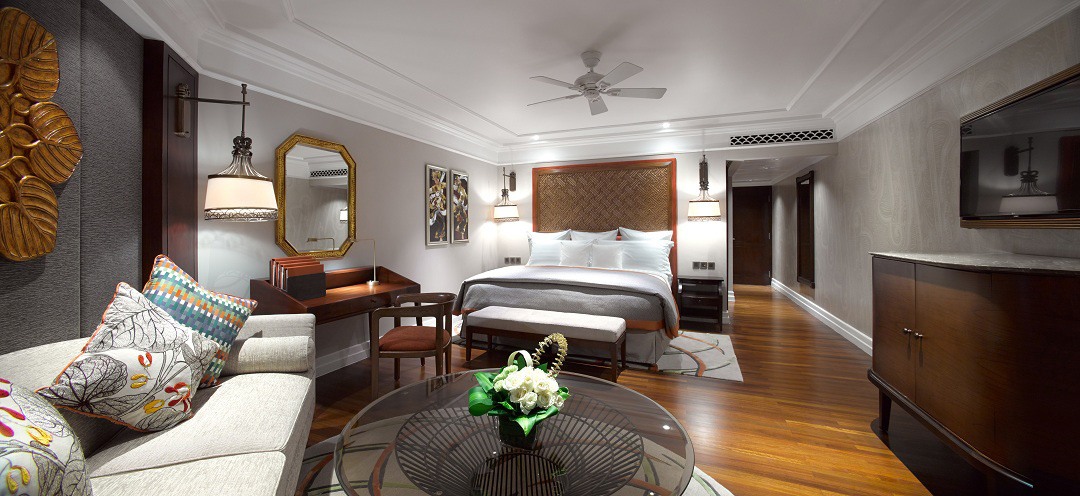 A general overview of the new-look Singaraja rooms.