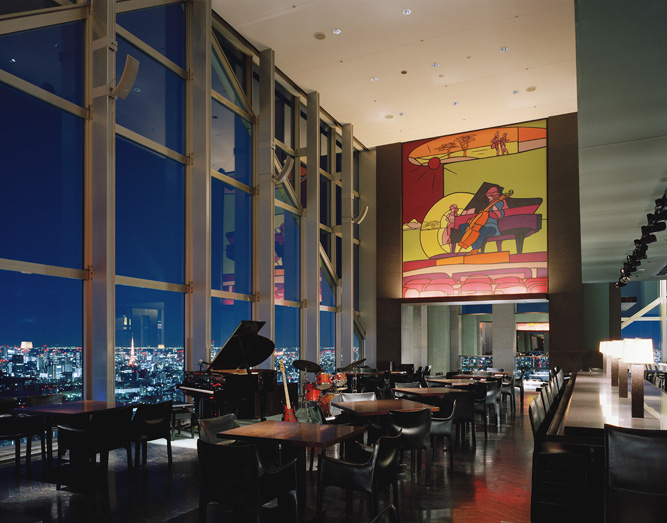 The New York Bar at Park Hyatt Tokyo