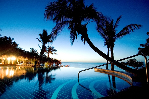 The Anantara Bazaruto Island Resort & Spa pool.