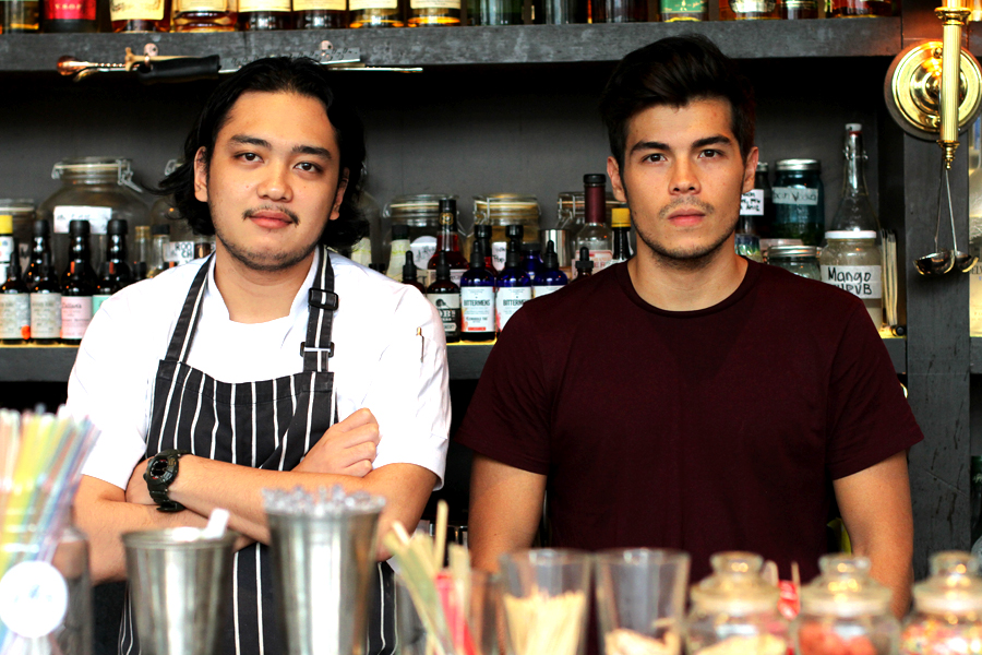 Chef Mikko Reyes and Erwan Heussaff.