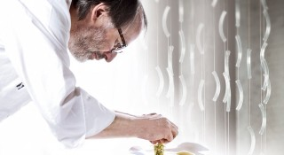 Chef Niederkofler first started his culinary training in Germany and is now the executive chef of Rosa Alpina.
