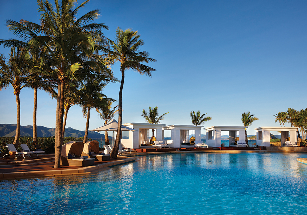 Poolside Cabanas At The One Only Hayman Island