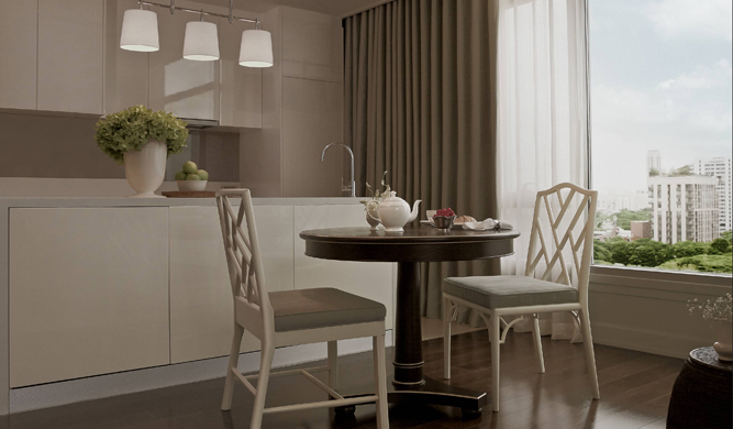 One Bedroom Suite - dining area.