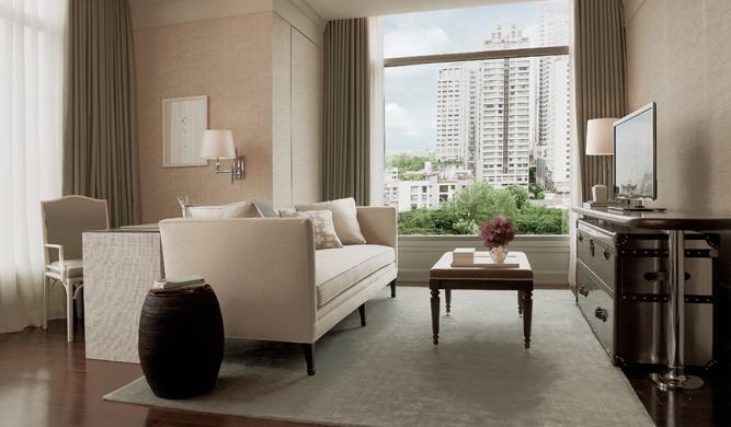 One Bedroom Suite - living room.