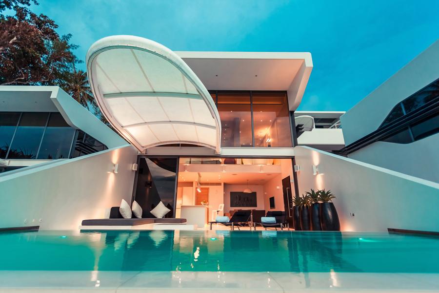 The one bedroom Ocean Loft.