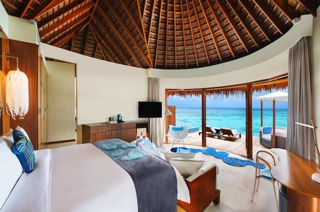 The restyled Ocean Oasis Lagoon villa.