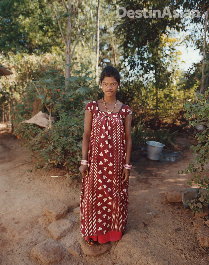 A villager near Chandoori Sai. Photo: Kate Eshelby