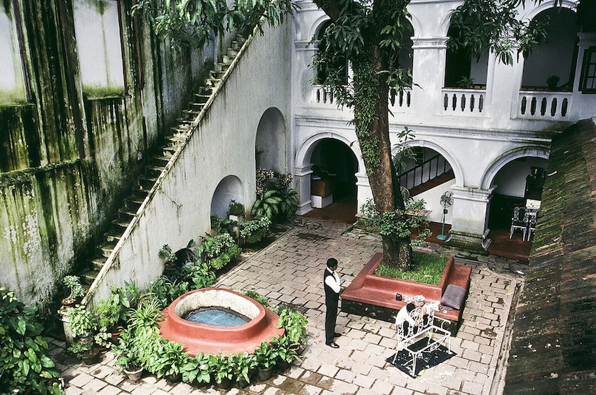The colonial stylings of Old Courtyard Hotel. Photo by Thaths